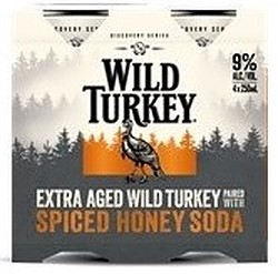 WILD TURKEY HERITAGE 9% + COLA CANS - LIMITED EDITION!