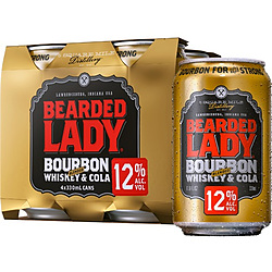 BEARDED LADY & COLA 12% CAN