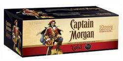 CAPTAIN MORGAN SPICED 375ML CANS 10PK