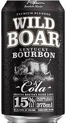 WILD BOAR BOURBON 15% + COLA CAN