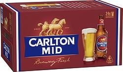 CARLTON MID 375ML STUBBIES