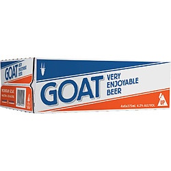 GOAT LAGER CANS 375ML 24PK