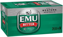 EMU BITTER 375ML STUBBIES