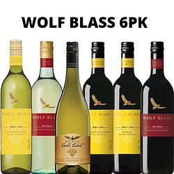WOLF BLASS MIXED 6PK