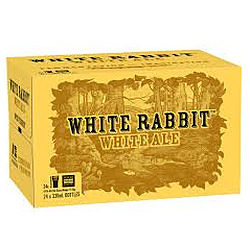 WHITE RABBIT WHITE ALE 330ML STUBBIES