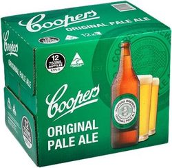 COOPERS PALE 750ML BTL 12PK