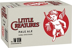 LITTLE CREATURES PALE 330ML STUBBIES