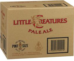 LITTLE CREATURES PALE 568ML BTL 12PK