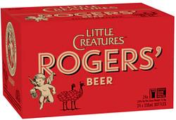 LITTLE CREATURES ROGERS 330ML STUBBIES