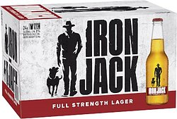IRON JACK RED 330ML STUBBIES