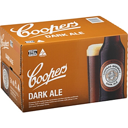 COOPERS DARK ALE 375ML STUBBIES - BUY COOPERS AND GO INTO DRAW TO WIN!