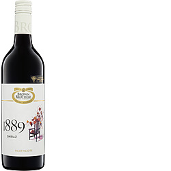 BROWN BROS 1889 SHIRAZ