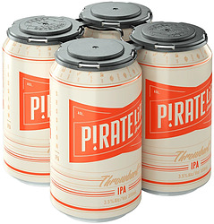 PIRATE LIFE THROWBACK SESSION IPA 3.5% 355ML CANS 4PK