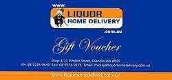 Gift Voucher - Liquor Home Delivery