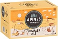 4 PINES INDIAN SUMMER ALE STUBBIES
