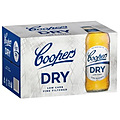 COOPERS DRY 4.2% 355ML BTL 24PK - PLUS FREE STUBBY COOLER!
