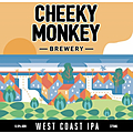 CHEEKY MONKEY WEST COAST IPA 16PK CAN