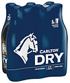 CARLTON DRY 355ML 6PK STUBBIES