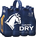 CARLTON DRY 12PK STUBBIES