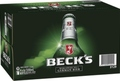 BECKS 330ML STUBBIES