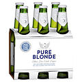 PURE BLONDE 355ML STUBBIES 6 PACK