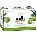 PURE BLONDE ORGANIC CIDER 355ML STUBBIES