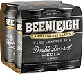 BEENLEIGH DOUBLE BARRELL + COLA CAN