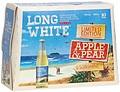 LONG WHITE VODKA APPLE + PEAR STB 10PK