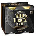 WILD TURKEY RARE AND COLA CANS 4PK