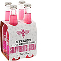 STINGER STRAWBERRY AND CREAM 4PK STUBBIES