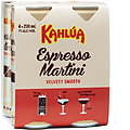 KAHLUA ESP MARTINI CAN 200ML 4PK