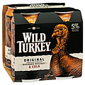 WILD TURKEY AND COLA CAN 4PK