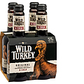 WILD TURKEY AND COLA 4 PACK STUBBIES