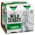 WILD TURKEY AND DRY CANS 4PKK