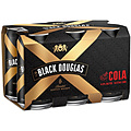 BLACK DOUGLAS AND COLA CAN