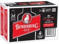BUNDABERG RED & COLA STUBBIES - GO INTO DRAW TO WIN A ICE BOX! DRAWN 30TH APRIL 21