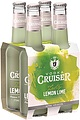 CRUISERS ZESTY LEMON-LIME 4PK