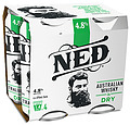 NED WHISKY + DRY CAN 4.8% 4PK