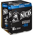 NED WHISKY + COLA 9% 250ML CAN 4PK - PLUS 1 CAN FREE!