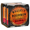 BULLEIT AND COLA 6% CANS 4PK