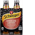 SCHWEPPES LEMON LIME BITTERS 300ML 4PK