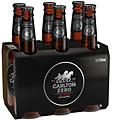 CARLTON ZERO 6PK STUBBIES