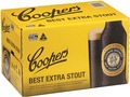 COOPERS STOUT 375ML STUBBIES