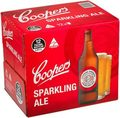 COOPERS SPARKLING ALE 750ML BTL 12PK - BUY COOPERS AND GO INTO DRAW TO WIN!