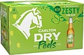 CARLTON DRY PEELS LIME 355ML STUBBIES