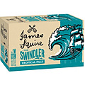 JAMES SQUIRE SWINDLER TROPICAL ALE 345ML STUBBIES - PLUS FREE BAG OF SMITHS CHIPS!