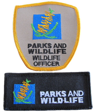 Embroidered and woven Patches