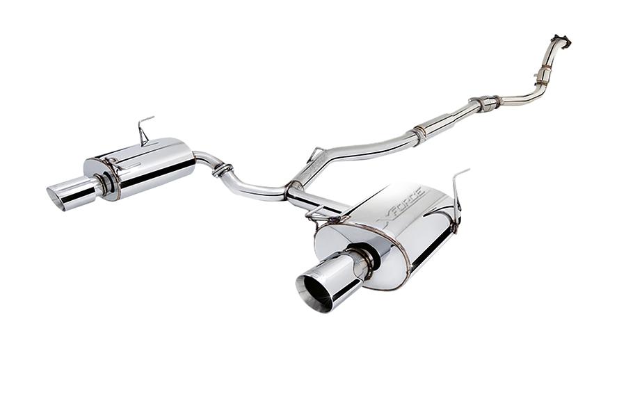 XFORCE SUBARU WRX STI Sedan, FORESTER XT 2009+ 3.0 turbo back - Image 1