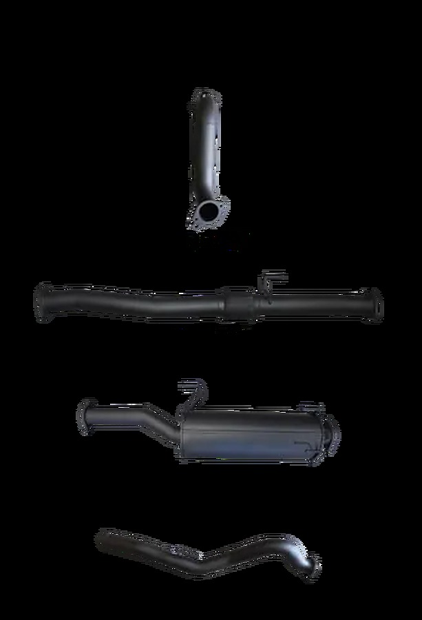"""Manta Aluminised Steel 3.0"""" without Cat full-system (quiet) for Isuzu D-MAX 3.0L CRD June 2012 - Jan 2017 (no DPF) - Image 1"""