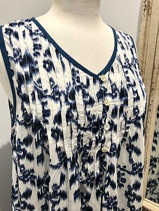 more on Cotton Nightie MND 777I  Cotton nightie 48 inch Ikat print